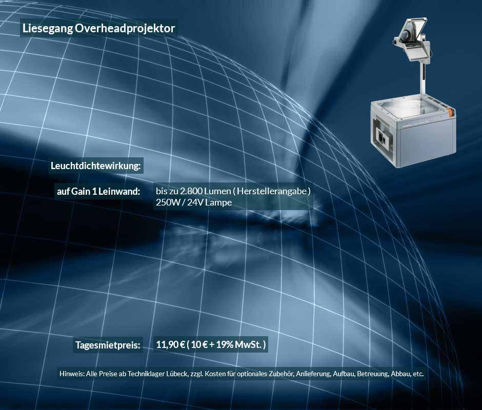 OHP Projektor - Tageslichtprojektor