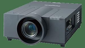 Der Panasonic PT EX12K kann in Kombination mit einer Gain 26 Hellraumleinwand als Tageslichtbeamer verwendet werden.